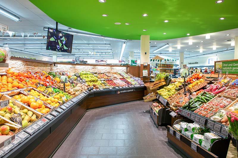 Frisches Obst und Gemüse in München