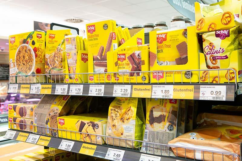 Glutenfreie Produkte im EDEKA in München